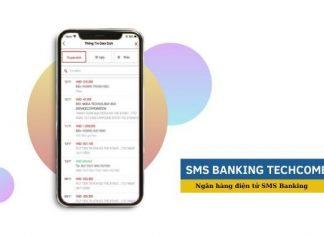 Huy sms banking techcombank