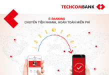 Chuyen tien lien ngan hang techcombank