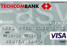 Quen so the techcombank
