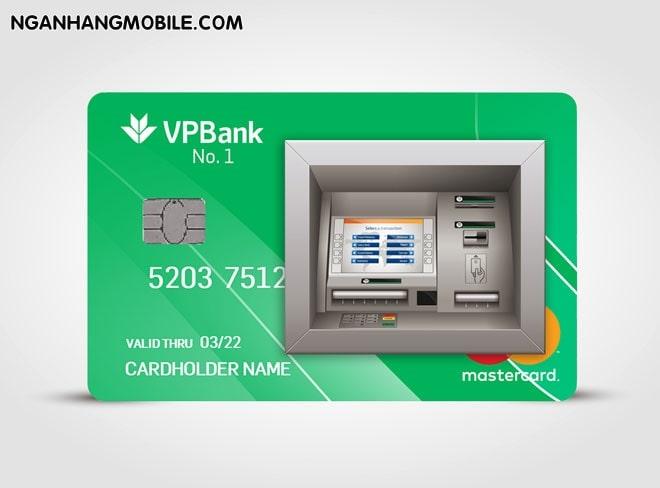 Rut tien khong can the vpbank
