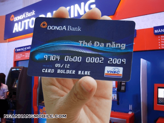 The atm dong a bank bi nuot
