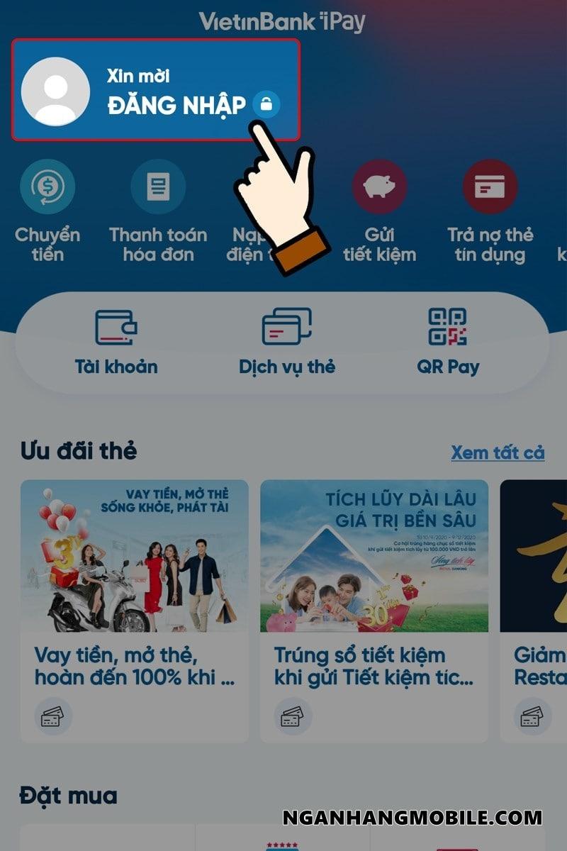Dang ky internet banking vietinbank co mat phi khong
