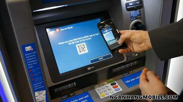 Rut tien bangm a qr bidv smart banking