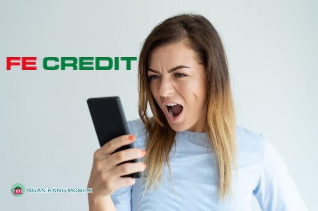 Bị fe credit gọi điện làm phiền