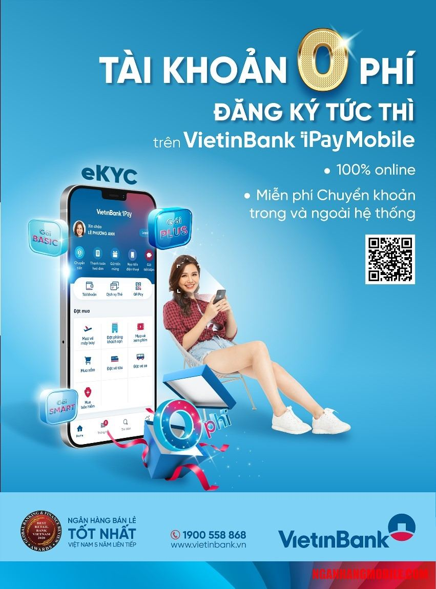 Phí chuyển tiền Vietinbank iPay